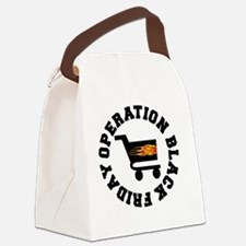 BLACK FRIDAY BLACK-001 Canvas Lunch Bag