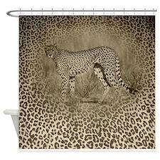 Cheetah Dreams Shower Curtain