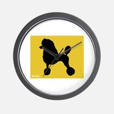 Poodle iPet Wall Clock