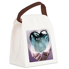 GGB_LOGO_PurpleBkgd Canvas Lunch Bag