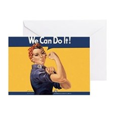 we-can-do-it-rosie_10-333x18h Greeting Card