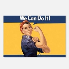 we-can-do-it-rosie_10-333 Postcards (Package of 8)