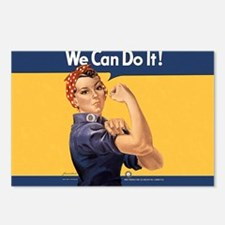 we-can-do-it-rosie_10-833 Postcards (Package of 8)