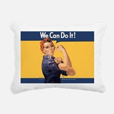 we-can-do-it-rosie_10-83 Rectangular Canvas Pillow