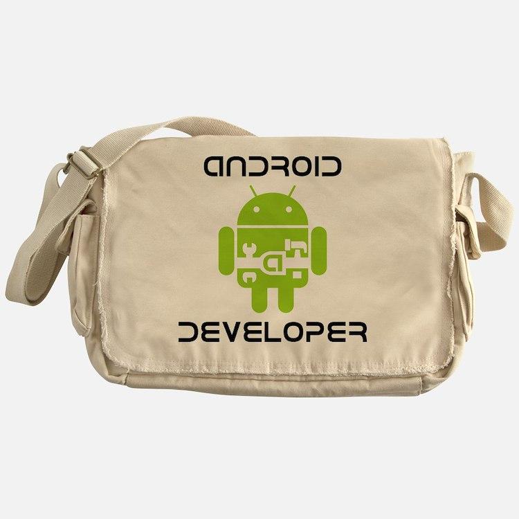 android-developer Messenger Bag