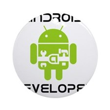 android-developer Round Ornament