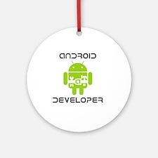 android-developer Round Ornament