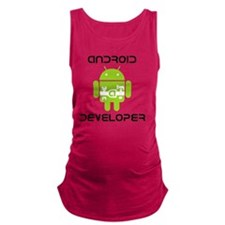 android-developer Maternity Tank Top