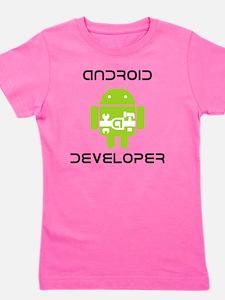 android-developer Girl's Tee