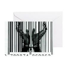 barcode23x35 Greeting Card