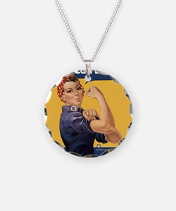 we-can-do-it-rosie_12-5x13-5 Necklace