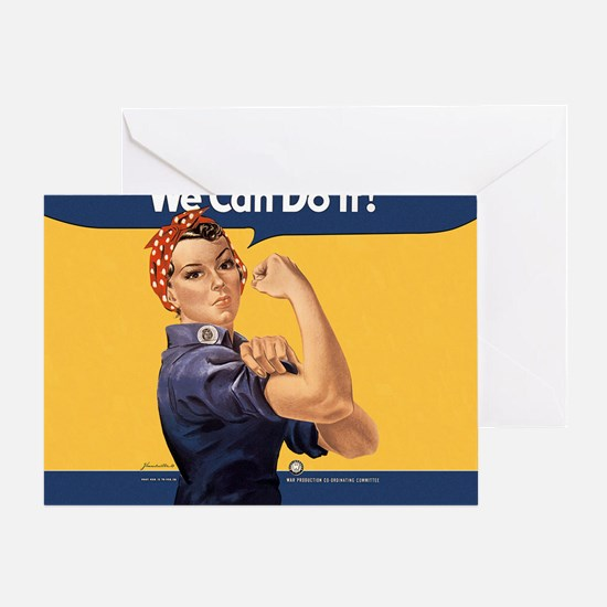 we-can-do-it-rosie_12-5x13-5h Greeting Card