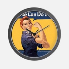 we-can-do-it-rosie_12-5x13-5h Wall Clock