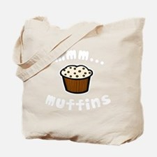 mmm muffins 1 light Tote Bag