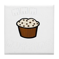 mmm muffins 1 light Tile Coaster