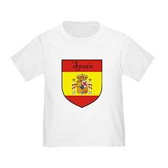 Spain Flag Crest Shield T