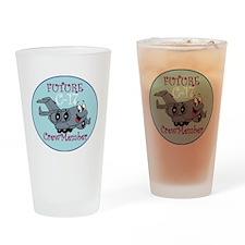 Mil 2C C17 M Crewmbr  copy Drinking Glass