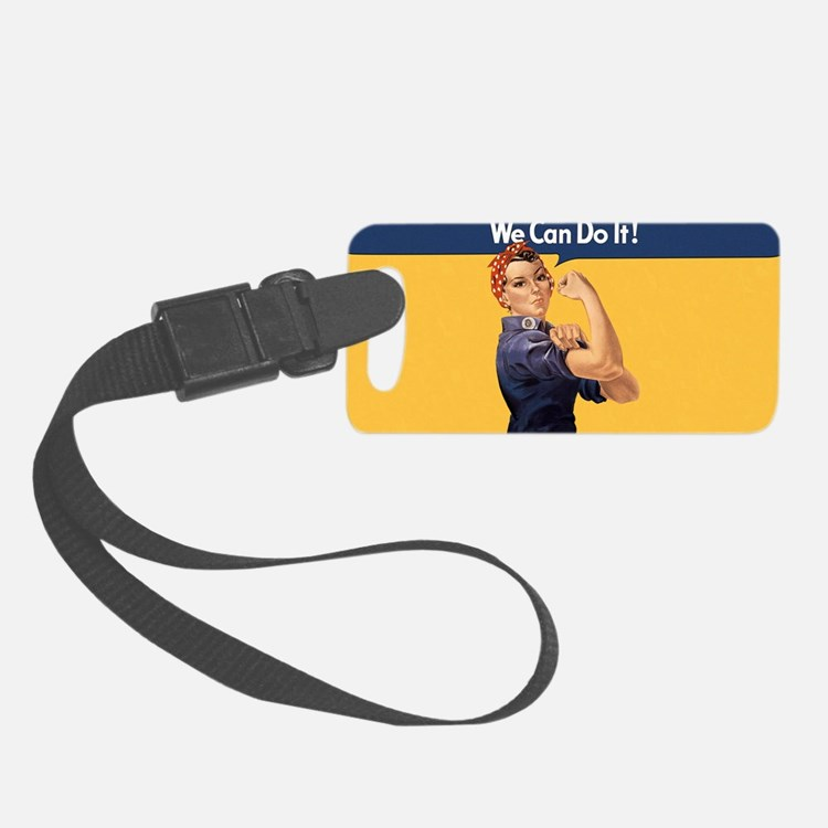 we-can-do-it-rosie_10x18h2 Luggage Tag