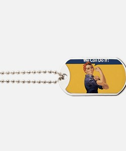 we-can-do-it-rosie_10x18h2 Dog Tags