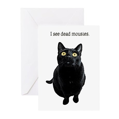 I See Dead Mousies Greeting Cards (Pk of 10)
