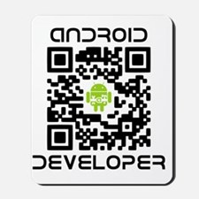 android-qr-3inch-300dpi Mousepad