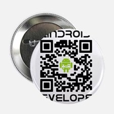"""android-qr-3inch-300dpi 2.25"""" Button"""