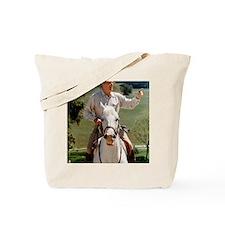 Reagan_on_horseback Tote Bag