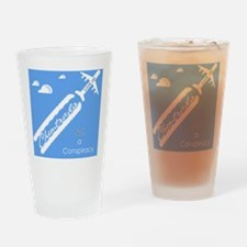chemtrailsposter Drinking Glass