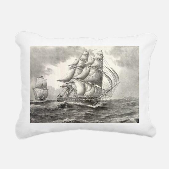 14.7x9.67_laptopSkin_USS Rectangular Canvas Pillow