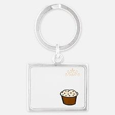 muffins war new light Landscape Keychain