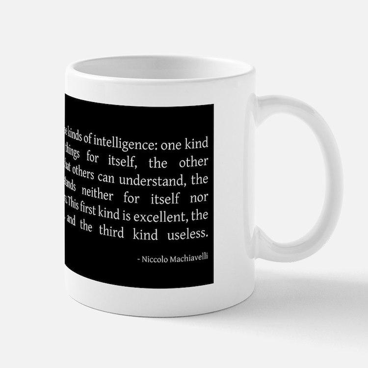 intelligience2 Small Small Mug