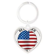 11 septB Heart Keychain