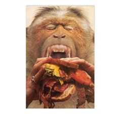 No More Fast Food Postcards (Package of 8)