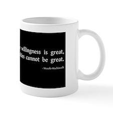 willingness2 Mug