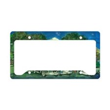 sullys_diner_scan_horizontal_ License Plate Holder