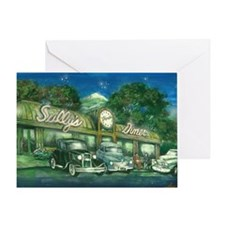 sullys_diner_scan_horizontal_200dpi Greeting Card