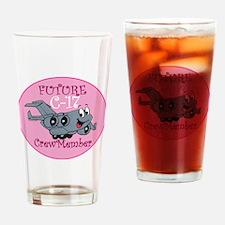 Mil 2C C17 F Crewmbr  copy Drinking Glass