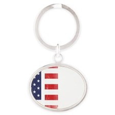 911SeptC Oval Keychain