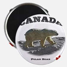Canada-PolarBear2-1 copy Magnet