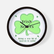 Irish Setter Heaven Wall Clock
