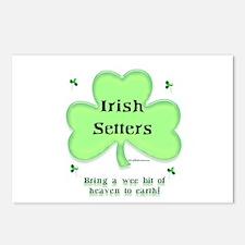 Irish Setter Heaven Postcards (Package of 8)