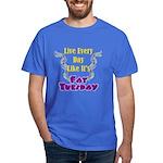 Fat Tuesday Dark T-Shirt