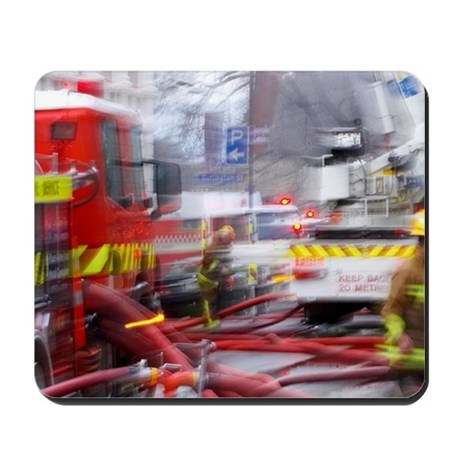 Firefighting, Dunedin, South Island, New Mousepad
