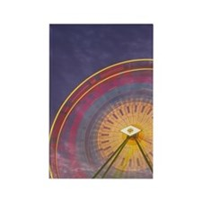 Ferris wheel rotation motion at d Rectangle Magnet