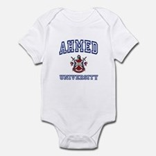 AHMED University Infant Bodysuit