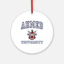 AHMED University Ornament (Round)