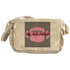 alabamafootball-pinkht Messenger Bag