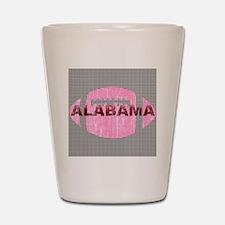 alabamafootball-pinkht Shot Glass