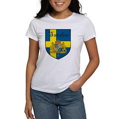 Sweden Flag Crest Shield Tee