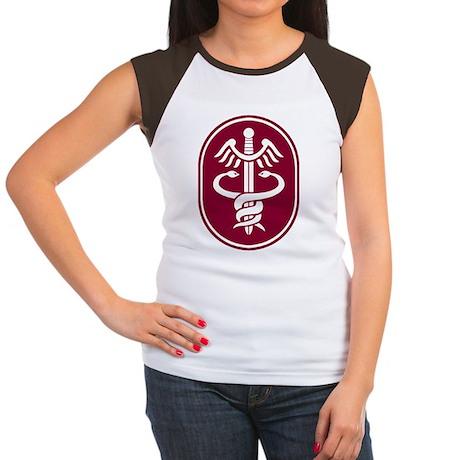 Army Medical Command - Women's Cap Sleeve T-Shirt